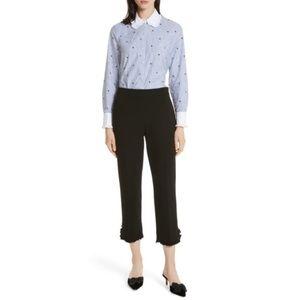Kate Spade Broome St Twinkle Stripe Poplin Shirt